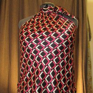 International Concepts 100% silk halter top